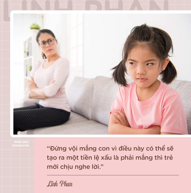Parent coach Linh Phan chỉ ra 8 nguyên nhân khiến con bướng bỉnh và cách để trẻ vâng lời chỉ sau 1 lần nhắc nhở - Ảnh 1.