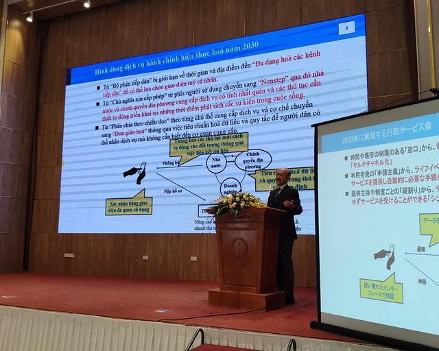 Bộ trưởng Mai Tiến Dũng: Xây dựng Chính phủ điện tử phải gắn kết ứng dụng CNTT và cải cách hành chính - Ảnh 1.