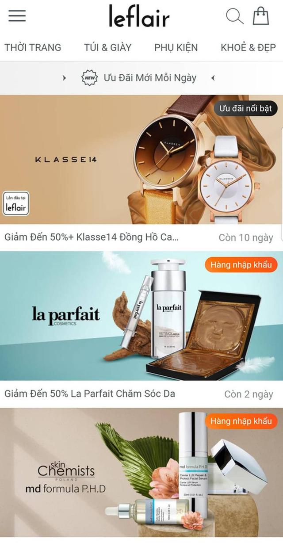 Vì sao website bán hàng hiệu Leflair đột ngột đóng cửa? - Ảnh 1.