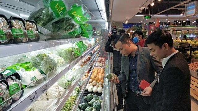 Không có hiện tượng thiếu hàng, sốt giá các thực phẩm thiết yếu tại hệ thống bán lẻ - Ảnh 1.