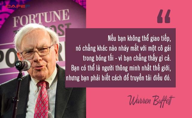 Warren Buffett khẳng định người giỏi nói trước đám đông có thể kiếm gấp đôi số tiền mình có, và đây là cách để rèn luyện kỹ năng theo HLV nghề nghiệp - Ảnh 1.