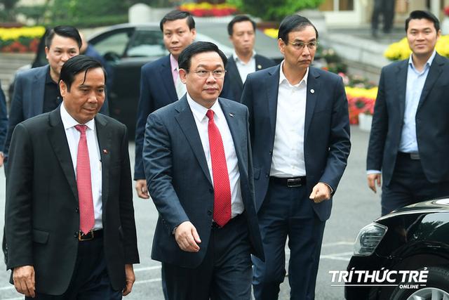 ẢNH: Toàn cảnh lễ nhận quyết định Bí thư Thành ủy Hà Nội của Phó Thủ tướng Vương Đình Huệ - Ảnh 2.