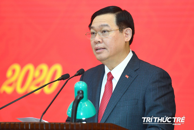 ẢNH: Toàn cảnh lễ nhận quyết định Bí thư Thành ủy Hà Nội của Phó Thủ tướng Vương Đình Huệ - Ảnh 11.