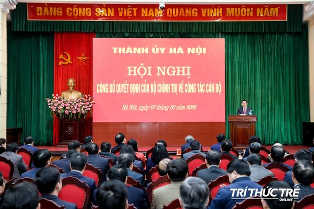ẢNH: Toàn cảnh lễ nhận quyết định Bí thư Thành ủy Hà Nội của Phó Thủ tướng Vương Đình Huệ - Ảnh 12.