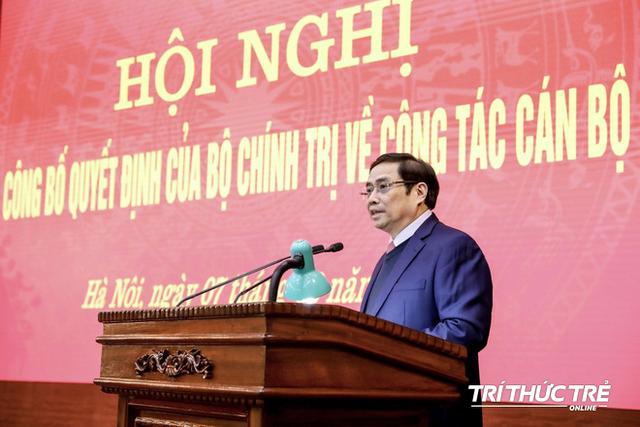 ẢNH: Toàn cảnh lễ nhận quyết định Bí thư Thành ủy Hà Nội của Phó Thủ tướng Vương Đình Huệ - Ảnh 4.