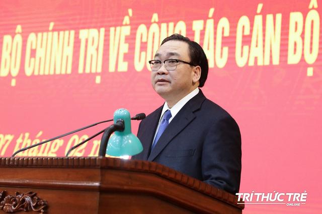 ẢNH: Toàn cảnh lễ nhận quyết định Bí thư Thành ủy Hà Nội của Phó Thủ tướng Vương Đình Huệ - Ảnh 10.