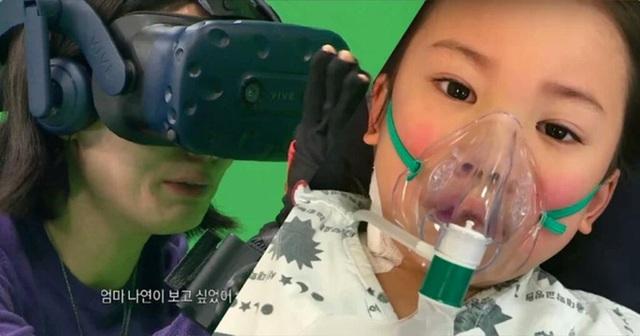 Nhờ công nghệ thực tế ảo, mẹ gặp lại con gái nhỏ qua đời vì bệnh máu trắng và màn tái ngộ khiến ai cũng rơi lệ - Ảnh 4.