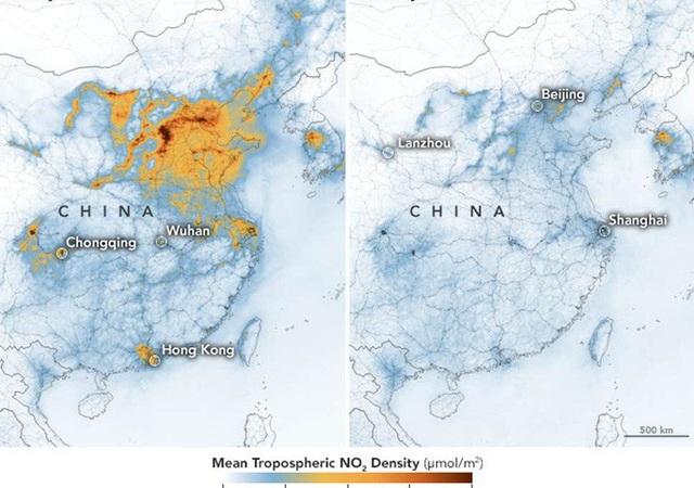 Covid-19 quét sạch ít nhất 1/4 lượng khí thải nhà kính ở Trung Quốc - Ảnh 1.