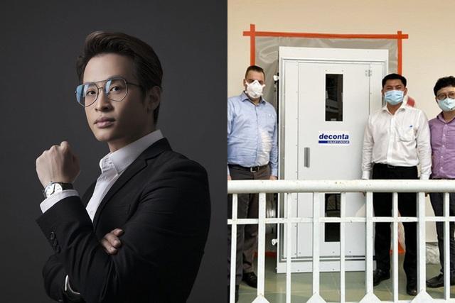 Nghĩa cử cao đẹp của các doanh nhân và nghệ sĩ Việt trong cuộc chiến chống dịch Covid-19: Shark Đặng Hồng Anh ủng hộ 5 tỷ VNĐ, Hà Anh Tuấn tặng 3 phòng áp lực âm - Ảnh 5.