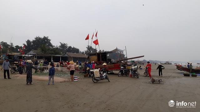 Được mùa cá trích, ngư dân xứ Thanh thu chục triệu mỗi ngày - Ảnh 6.
