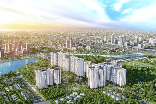 """Thị trường địa ốc Tp.HCM khan hiếm nguồn cung, người mua nhà """"ngóng"""" dự án mới - Ảnh 1."""