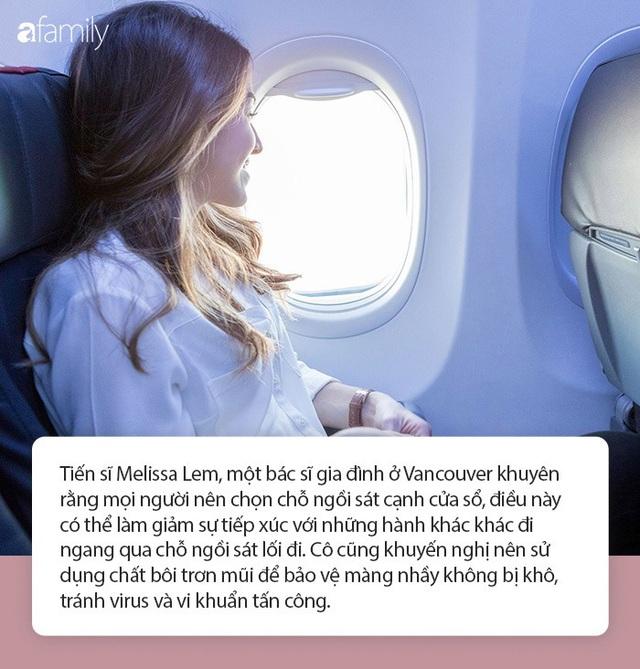 11 điều phải thuộc lòng khi đi máy bay trong mùa dịch Covid-19 để phòng chống lây nhiễm virus - Ảnh 3.