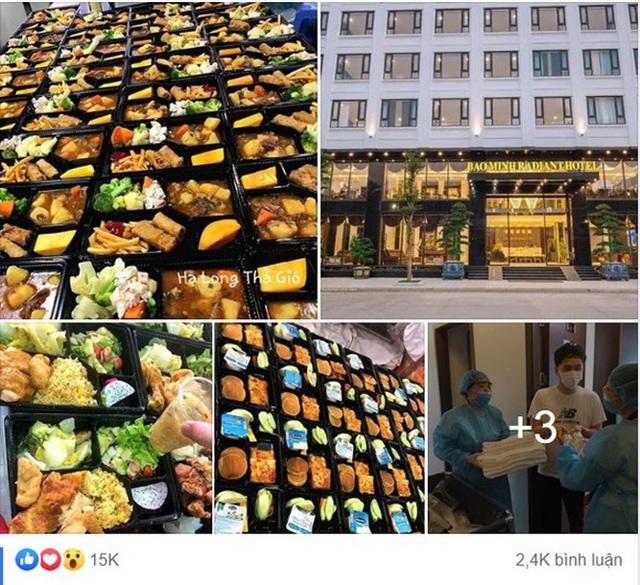 Giám đốc khách sạn ở Hạ Long lên tiếng sau khi hình ảnh những suất cơm cách ly sang chảnh, toàn tinh hoa ẩm thực được chia sẻ rào rào trên MXH - Ảnh 1.