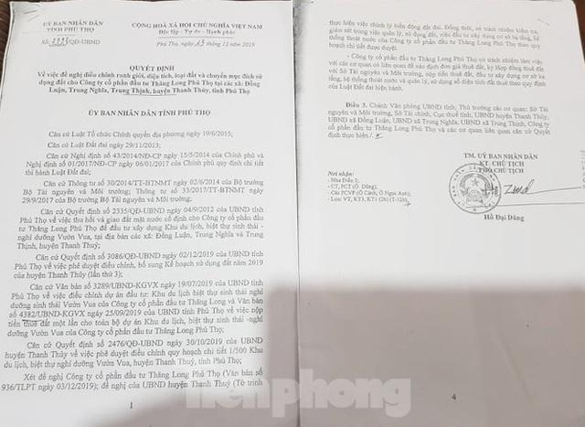 Bên trong dự án Vườn Vua hơn 1.400 tỷ vướng hàng loạt sai phạm ở Phú Thọ - Ảnh 17.