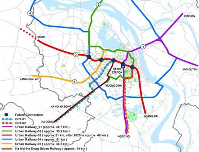 VinGroup đề nghị tài trợ kinh phí lập báo cáo nghiên cứu tiền khả thi Dự án đường sắt đô thị Văn Cao – Hòa Lạc - Ảnh 1.