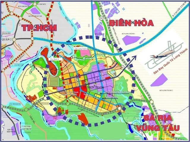 Quy hoạch đô thị mới Nhơn Trạch trong tương lai như thế nào? - Ảnh 1.