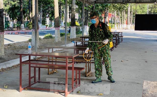 Cuộc sống trong khu cách ly gần sân bay Tân Sơn Nhất - Ảnh 19.