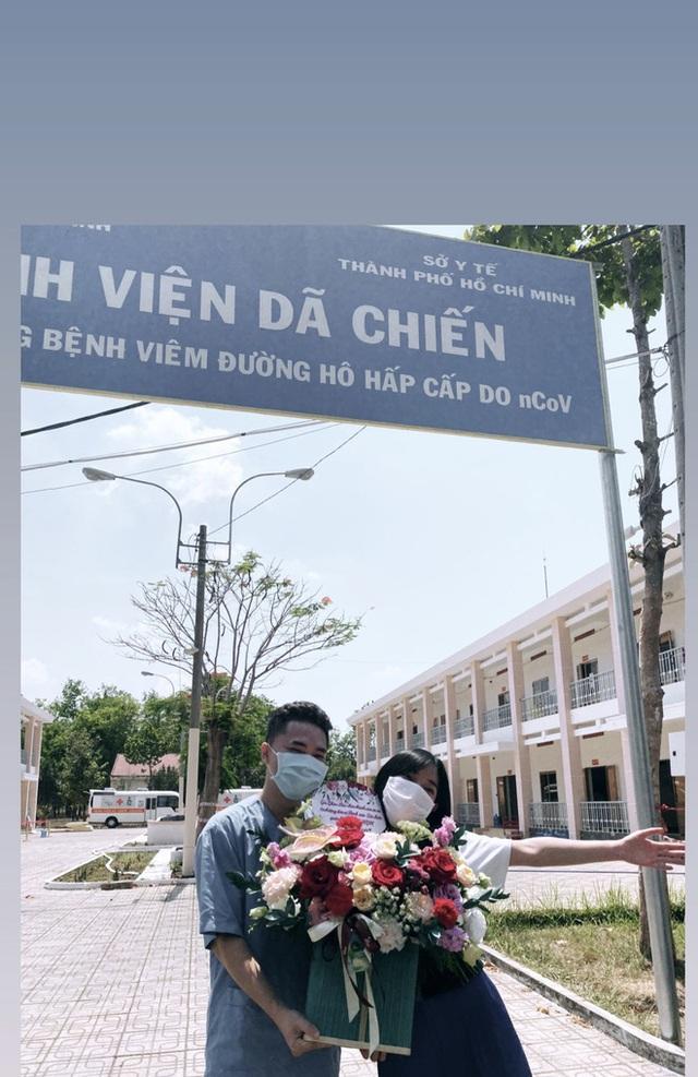 Châu Bùi tặng 140 cây quạt, 1000 chai nước rửa tay cho bệnh viện mình từng cách ly - Ảnh 6.