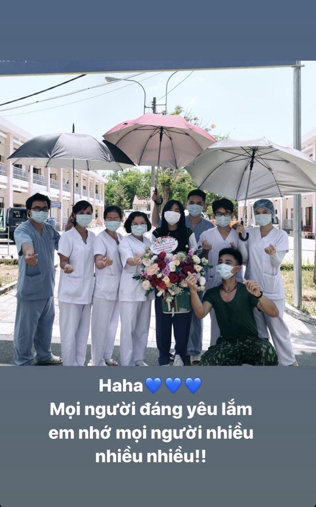 Châu Bùi tặng 140 cây quạt, 1000 chai nước rửa tay cho bệnh viện mình từng cách ly - Ảnh 8.