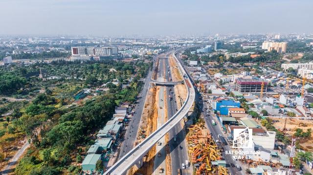 """Toàn cảnh hạ tầng giao thông khu Đông với nhiều tuyến đường sắp được mở rộng: Nơi đang chuẩn bị trở thành """"thành phố trong TP.HCM"""" - Ảnh 4."""