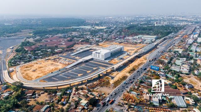 """Toàn cảnh hạ tầng giao thông khu Đông với nhiều tuyến đường sắp được mở rộng: Nơi đang chuẩn bị trở thành """"thành phố trong TP.HCM"""" - Ảnh 5."""