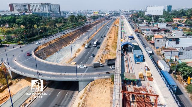 """Toàn cảnh hạ tầng giao thông khu Đông với nhiều tuyến đường sắp được mở rộng: Nơi đang chuẩn bị trở thành """"thành phố trong TP.HCM"""" - Ảnh 6."""