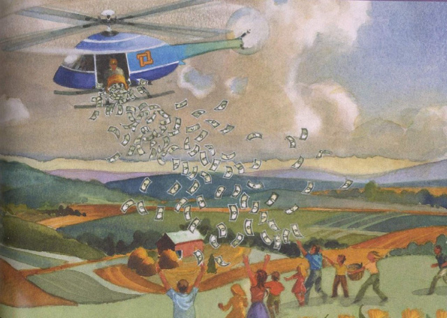 WEF: Các nhà kinh tế học hàng đầu khuyên các chính phủ nên thực thi chính sách tiền trực thăng - phát tiền miễn phí cho người dân để vượt qua khủng hoảng Covid-19 - Ảnh 1.
