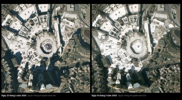 Tác động kinh tế của Covid-19 trên toàn cầu trông ra sao từ... bên ngoài trái đất? - Ảnh 2.