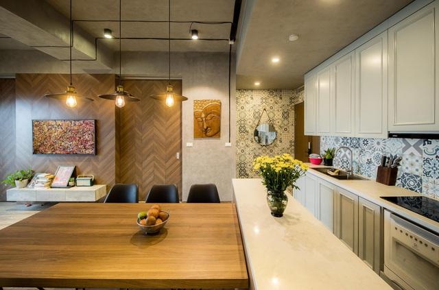 Đi ngược số đông, gia đình trẻ ở Hà Nội cải tạo căn hộ 2 phòng ngủ thành một - Ảnh 5.