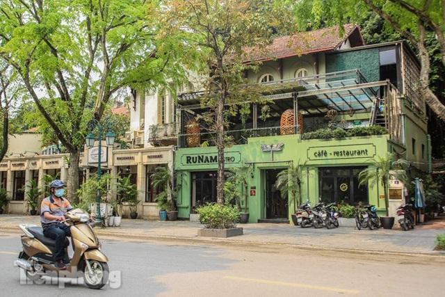 Hàng loạt quán cà phê đất vàng Hà Nội tạm thời đóng cửa - Ảnh 6.