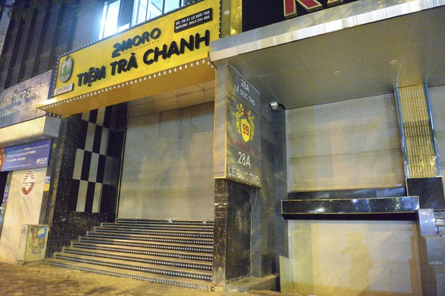 Hình ảnh khác lạ của các phố karaoke nổi tiếng Hà Nội sau chỉ đạo đóng cửa tạm thời - Ảnh 8.