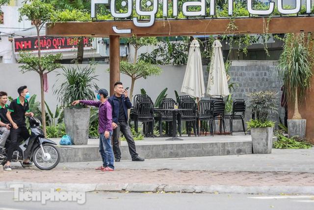 Hàng loạt quán cà phê đất vàng Hà Nội tạm thời đóng cửa - Ảnh 8.