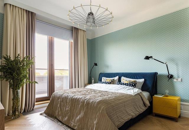 Ngôi nhà trang trí nội thất màu xanh và vàng lạ mắt - Ảnh 9.  Ngôi nhà trang trí nội thất màu xanh và vàng lạ mắt photo 8 15852150032851114446570