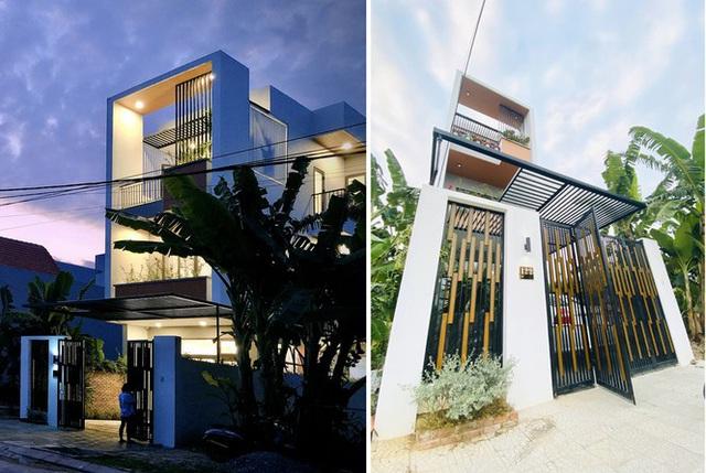 Nhà phố 3 tầng lấy gió và sáng có thiết kế ấn tượng - Ảnh 2.