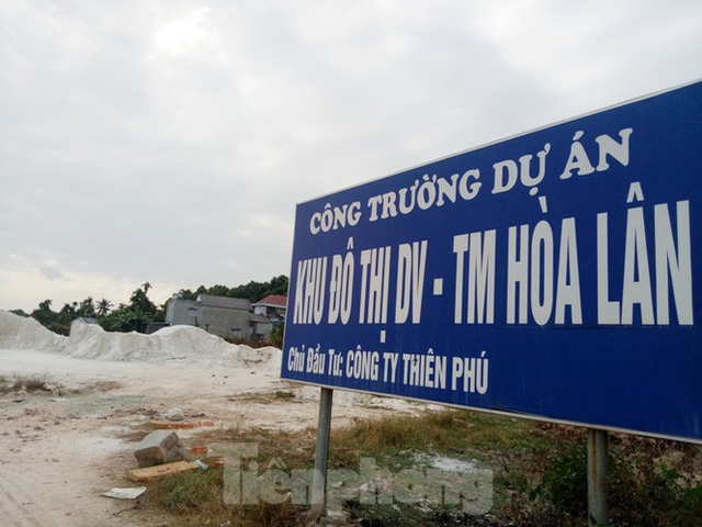 Cận cảnh khu đất khiến lãnh đạo Cty Thiên Phú bị bắt - Ảnh 1.