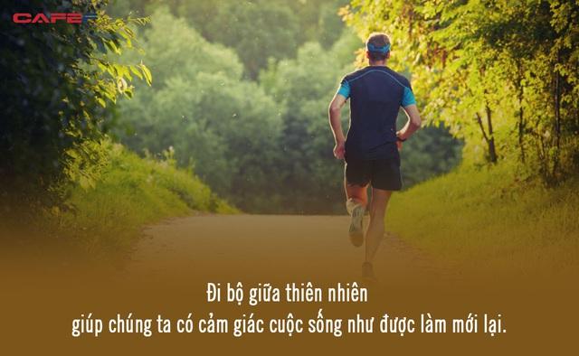 Không vận động, con người trở nên nóng tính và thờ ơ: Đi bộ là thói quen đơn giản nhất giúp bạn giảm lo âu, căng thẳng, tìm lại chính mình - Ảnh 1.