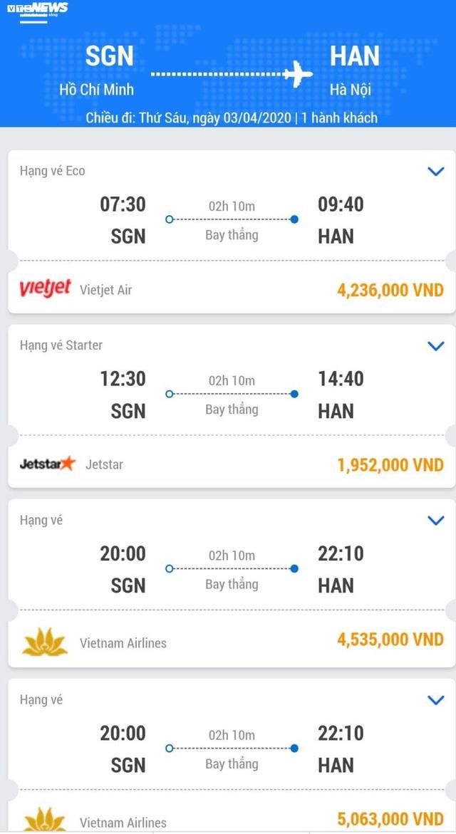 Chuyến bay bị hạn chế, giá vé lập tức tăng chóng mặt - Ảnh 1.