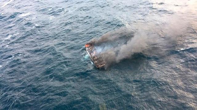 5 người Việt mất tích trong vụ cháy tàu cá ngoài khơi đảo Jeju - Ảnh 3.