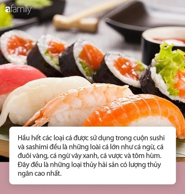 Không chỉ là nguy cơ nhiễm sán, đây mới là những sự thật từ món sushi khoái khẩu được chuyên gia tiết lộ - Ảnh 1.