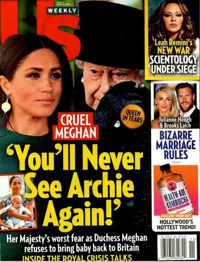 Báo Mỹ: Lời nói quá quắt của Meghan Markle khiến Nữ hoàng Anh rơi nước mắt cùng sự bất lực của Hoàng tử Harry - Ảnh 1.