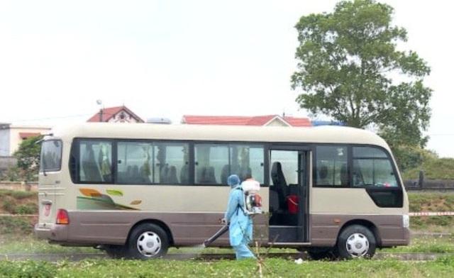 730 công dân về từ vùng dịch Covid-19 được đón, cách ly tại Ninh Bình  - Ảnh 2.