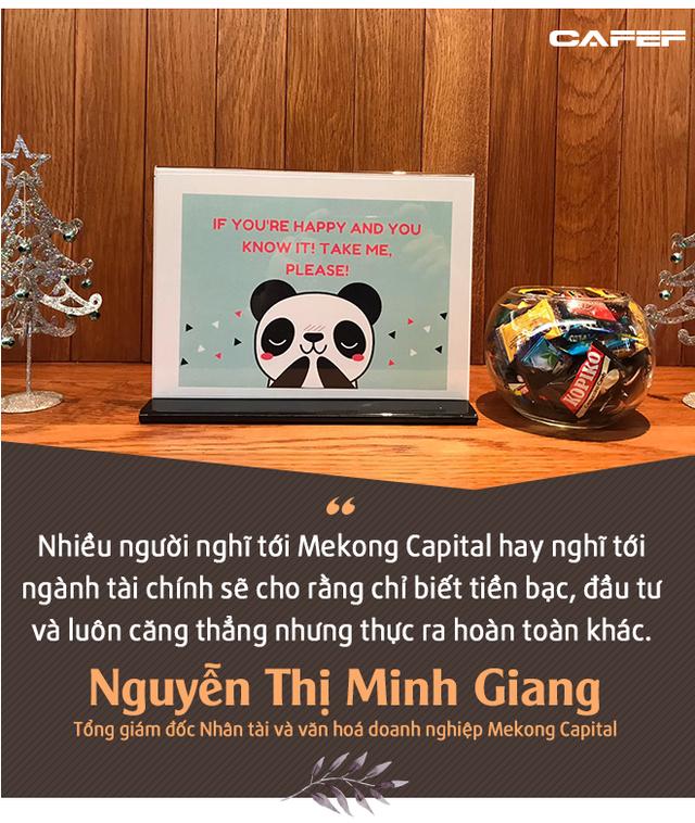 Nữ tướng Mekong Capital: Đừng nghĩ dân tài chính chỉ biết đến tiền - Ảnh 5.