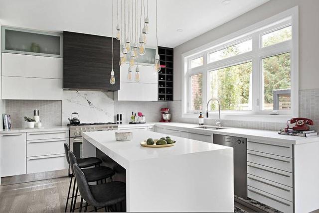 12 thiết kế căn bếp hiện đại đẹp sang trọng và gọn gàng - Ảnh 6.
