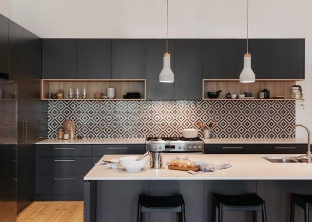 12 thiết kế căn bếp hiện đại đẹp sang trọng và gọn gàng - Ảnh 7.
