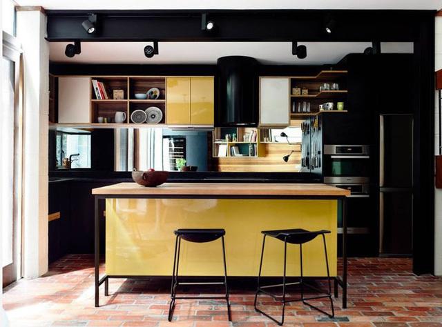 12 thiết kế căn bếp hiện đại đẹp sang trọng và gọn gàng - Ảnh 8.