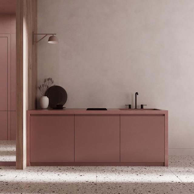 Căn hộ sành điệu với gam màu hồng đơn sắc - Ảnh 5.