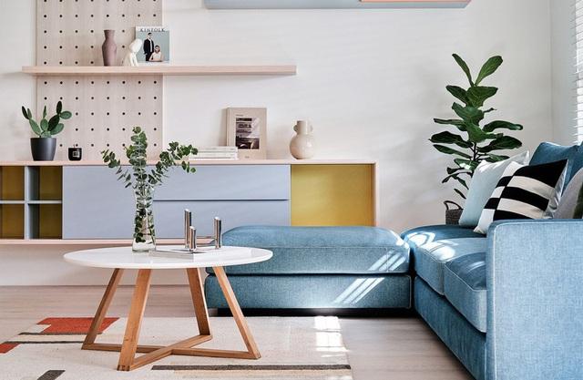 Mê mẩn thiết kế hiện đại của căn hộ 132m2 - Ảnh 2.