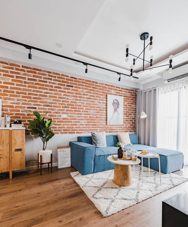 Ấn tượng căn hộ được trang trí bằng gạch tự nhiên - Ảnh 4.