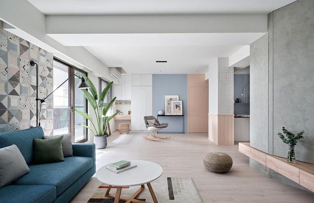 Mê mẩn thiết kế hiện đại của căn hộ 132m2 - Ảnh 5.