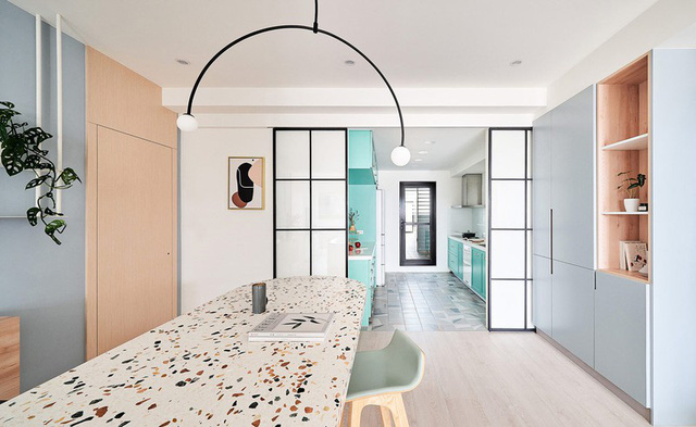 Mê mẩn thiết kế hiện đại của căn hộ 132m2 - Ảnh 9.